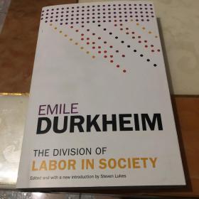 [英文](新版)涂尔干/杜尔凯姆 《社会分工论》The Division of Labor in Society(附有Steven Lukes的长篇导言)海外发货