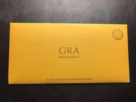 GRA鉴定钻石 重量:一克拉 尺寸:6.5mm