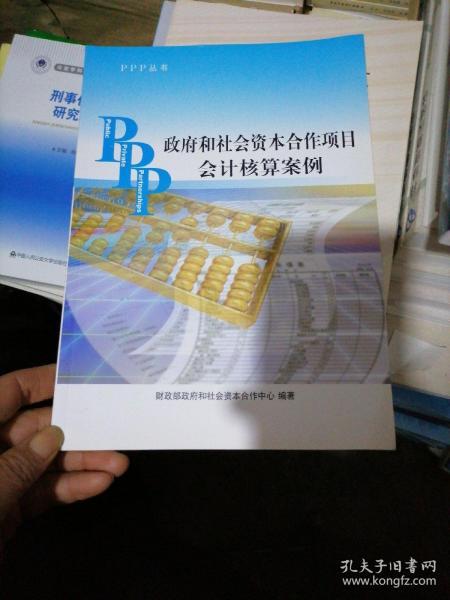 PPP丛书:政府和社会资本合作项目会计核算案例