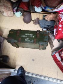 文革木柄手榴弹箱