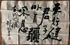 韩敏国画书法上海书画研究院院长现为中国美术家协会委员上海市美术家协会理事上海文史馆馆员职尺寸70x46