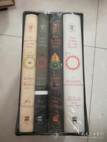 指环王60周年套装英文版 The Lord of the Rings 精装 进口图书