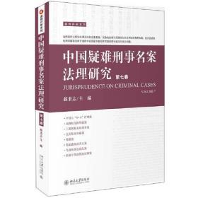 库存书 中国疑难刑事名案法理研究(第七卷)
