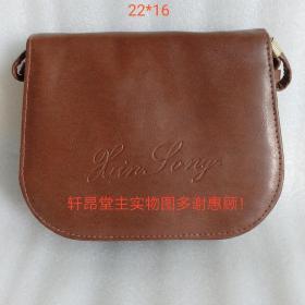 工厂清仓:皮背包小号6(带镜子)