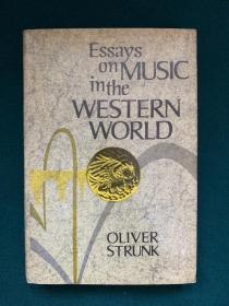 Essay on Music in the Western World【论西方世界的音乐】【古典音乐相关】