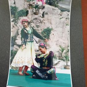 老照片 新疆舞