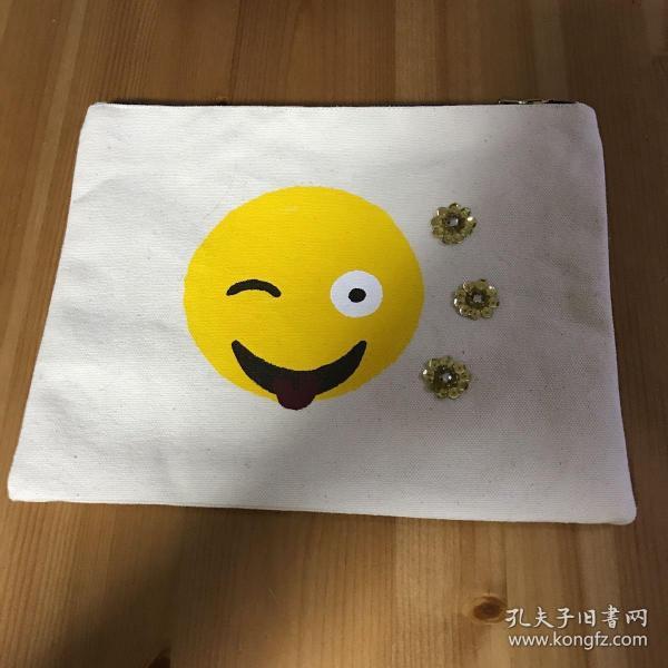 鬼脸Smile Emoji 手拿包