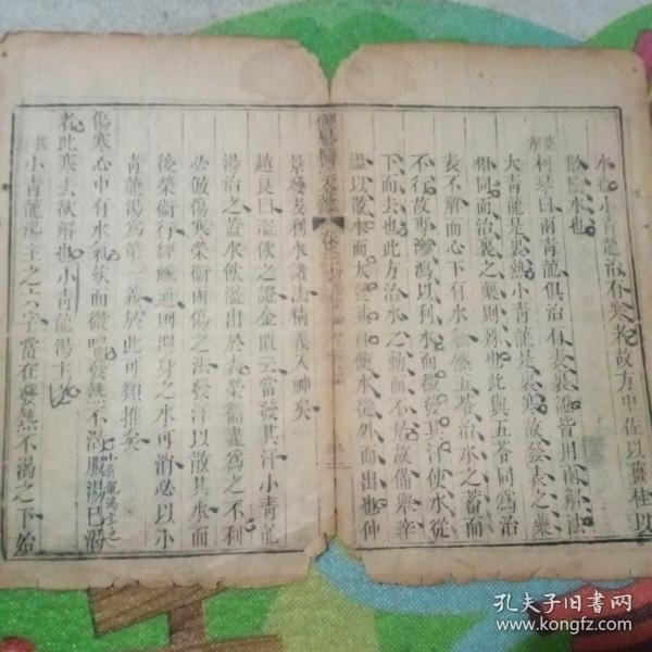 清中期古籍标本一页!