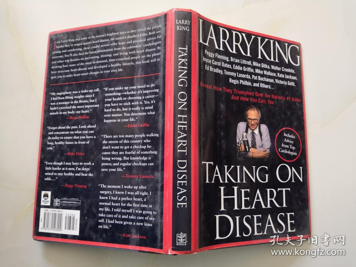 Taking on Heart Disease(英文原版)精装