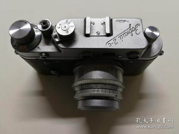 二战前苏联仿莱卡全金属机械胶片旁轴照相机