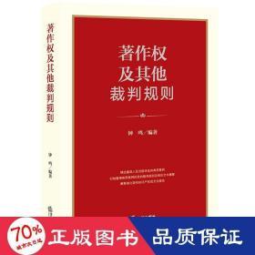 著作权及其他裁判规则