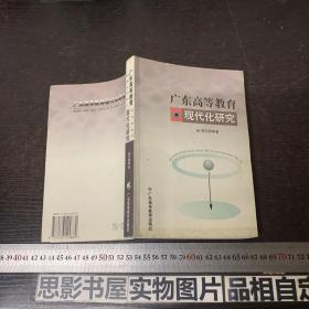 广东高等教育现代化研究