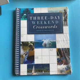 Three-Day Weekend Crosswords[Spiral-bound]