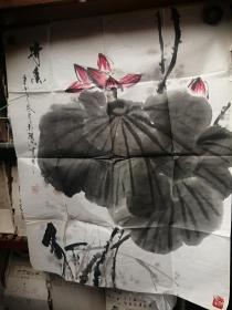 花鸟画《开3》