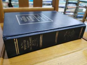 英文原版:The New WEBSTER Encyclopedic DICTIONARY of the ENGLISH LANGUACE