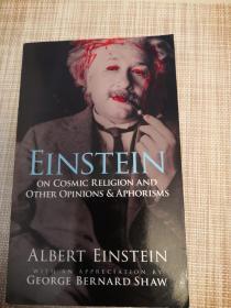 爱因斯坦:宇宙宗教,观点和格言 Einstein