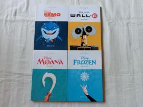 MINT READERS薄荷阅读 迪士尼系列 【4册合售】,