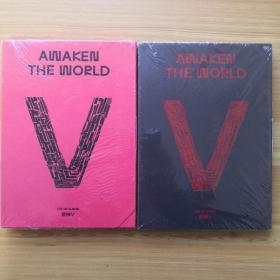 威神V(两册合售)全新未开封 附光盘