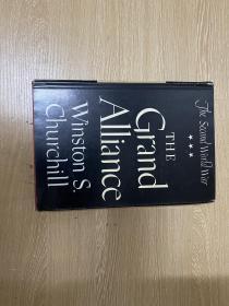 The Second World War:Grand Alliance  丘吉尔《第二次世界大战回忆录》,卷三,布面精装毛边本,1950年老版书,夏济安说是一字千金的文笔,获诺贝尔文学奖。纸张、装订比平装本好太多