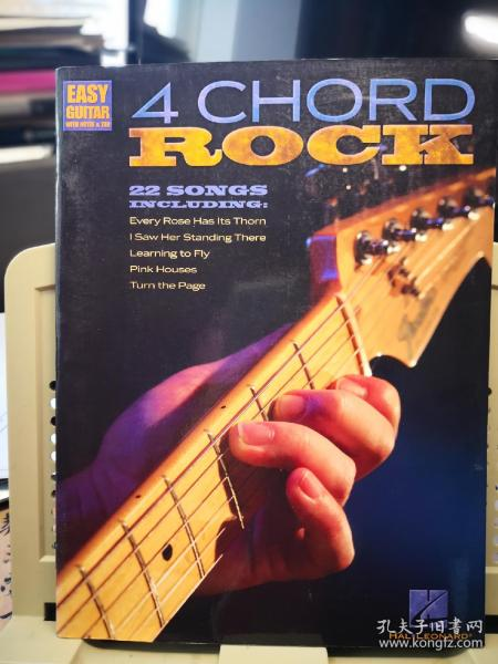 4 CHORD ROCK  22首摇滚名曲改编的吉他旋律