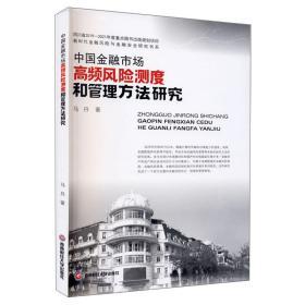 中国金融市场高频风险测度和管理方法研究