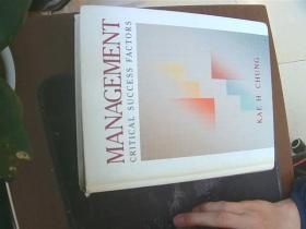 MANAGEMENT Critical Success Factors