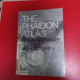 The Phaidon Atlas of Contemporary World Architecture I and II,III,