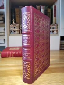 1978年 The Franklin Library 限量版 巴尔扎克的都兰趣话   Droll Stories (The Collected stories of the world's greatest writers) 十日谈式的短篇故事集 竹节书脊 三面刷金