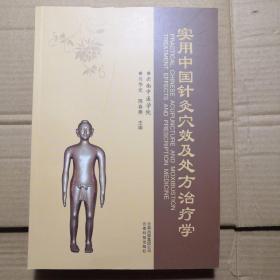 实用中国针灸穴效及处方治疗学