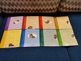 瑞士插画大师莫妮克创作的著名无字书系列,全8册合售:《反正》《飞机》《小船》《大风》《数字》《字母》《房子》《颜色》