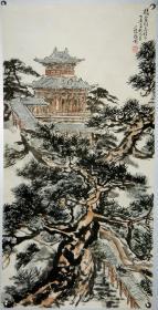 【何镜涵】中国美协会员 齐白石艺术研究会顾问 山水