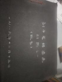 河北画家刘子龙<蜡染画﹥照片30张尺寸不一