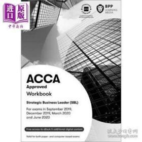 二手正版 ACCA Approved Workbook Strategic Business Leader (SBL) Workbook 9781509723447
