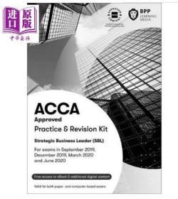 二手正版 ACCA Practice & Revision Kit Strategic Business Leader (SBL)  9781509724536