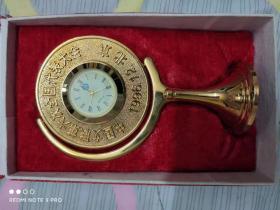 中国文联第六次全国代表大会纪念章(1996年12月北京铜质镀金)