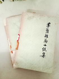 DA118677 茅盾短篇小說集(上下冊)(封面有破損)(一版一印)