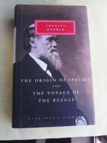 The Origin of Species and The Voyage of the Beagle    英文原版    达尔文 《物种起源和猎犬号游记》 人人文库精装本厚册