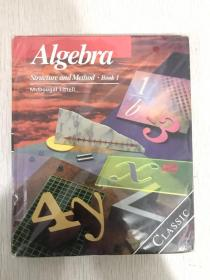 现货  Algebra: Structure and Method, Book 1