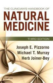 预订The Clinician's Handbook of Natural Medicine