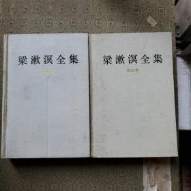 梁漱溟全集 第三四两卷 一版一印