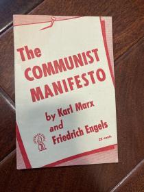 1948年英文版《共产党宣言》