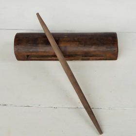 清末民国木鱼手工制作木磬古典音乐盒木梆子收藏品