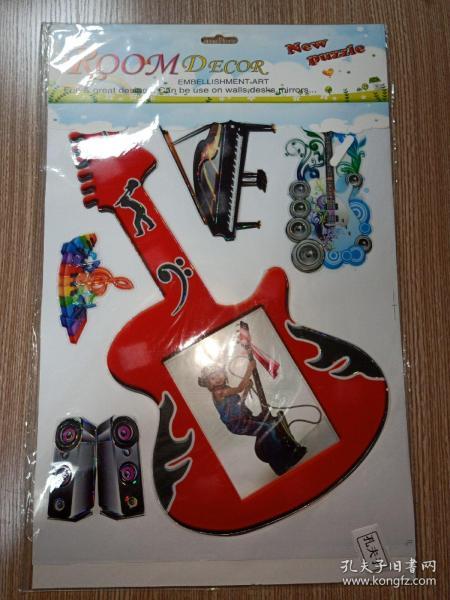 ROOMDECOR 儿童房装饰墙贴(音乐)