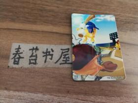 统一小浣熊【食品卡】---微笑宝贝1张【棒球 3/8】