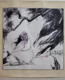 韩国臻,1944年生,山东潍坊人。现为中央美术学院中国画系副主任、教授、研究生导师、中国美术家协会会员。擅长水墨人物画。
