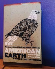 预售美国地球环境保护美国图书馆版精装American Earth: Environmental Writing Since Thoreau