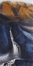 天来堂◆苍茫厚重向中林◆四尺创新山水