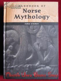 Handbook of Norse Mythology(World Mythology)北欧神话手册(世界神话丛书 英语原版 精装本)