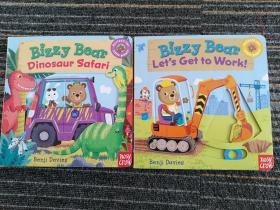 Bizzy Bear: Dinosaur Safari  Let's Get to work(两本合售)