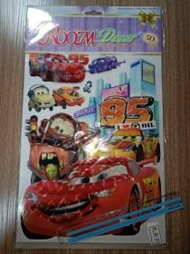 ROOMDECOR  儿童房装饰墙贴(小汽车)